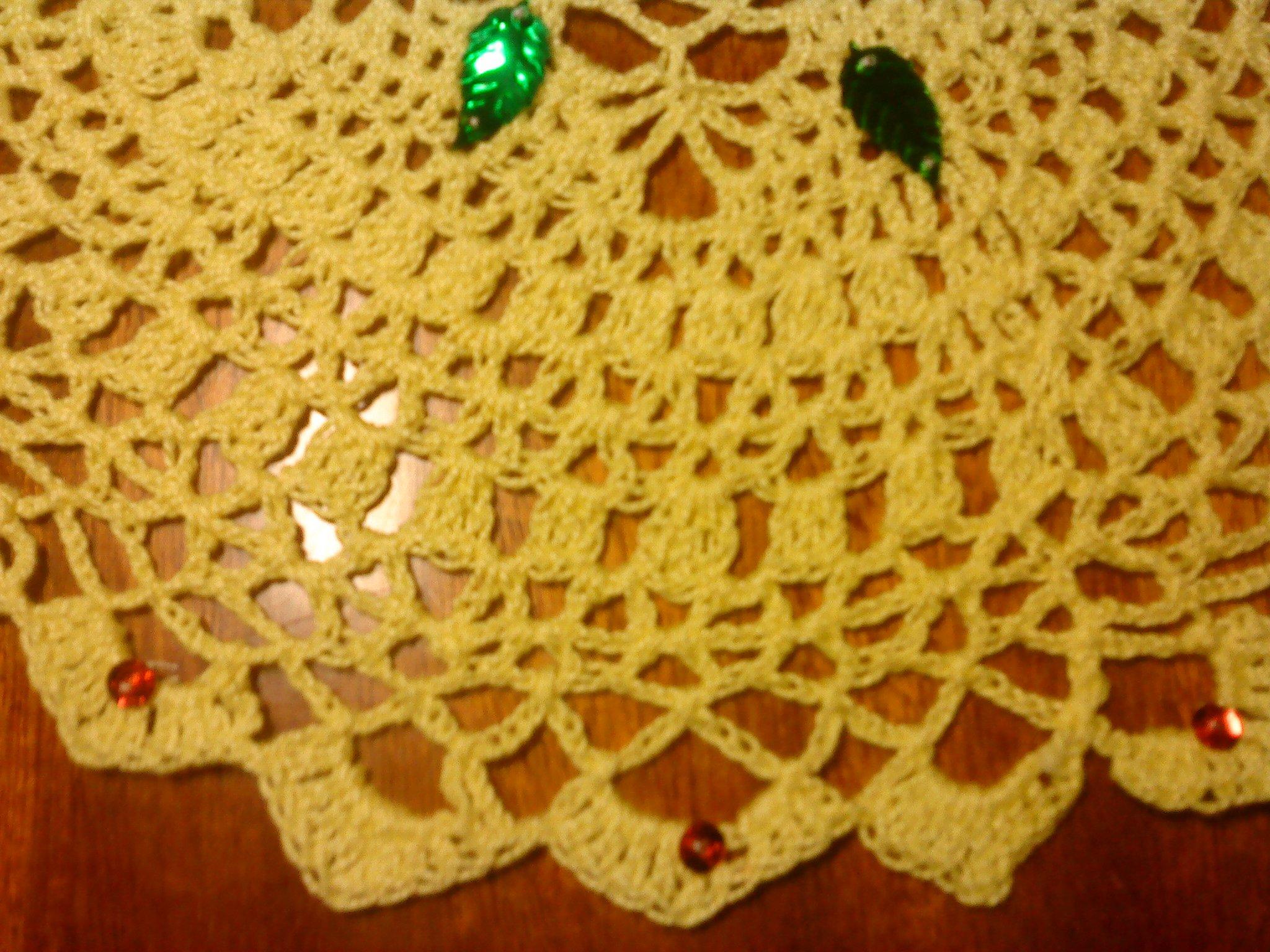 Grand Napperon Au Crochet dedans grands napperons au crochet. « mes créations