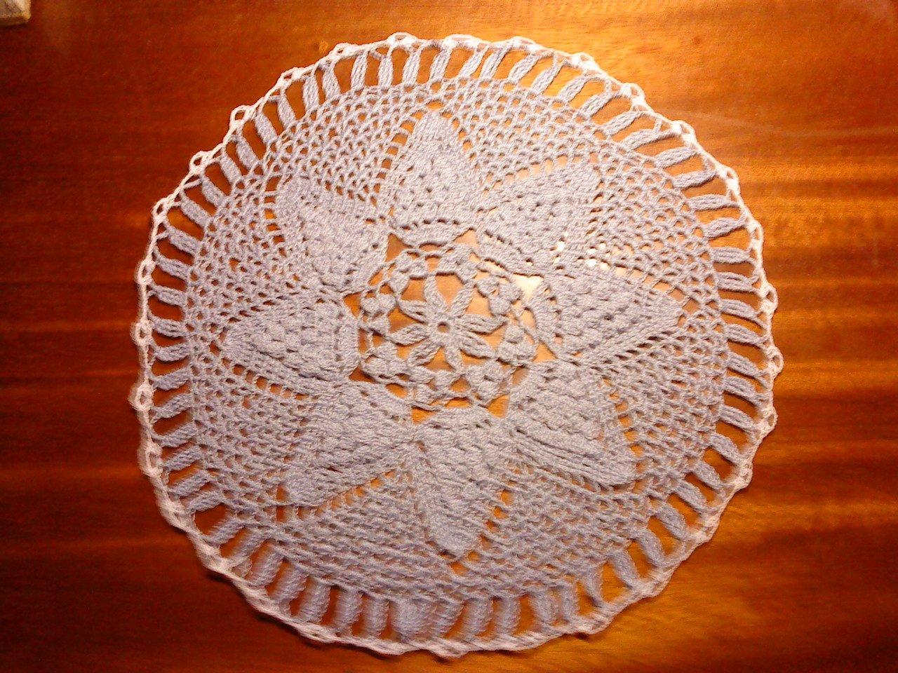 Grand Napperon Au Crochet destiné grands napperons au crochet. « mes créations
